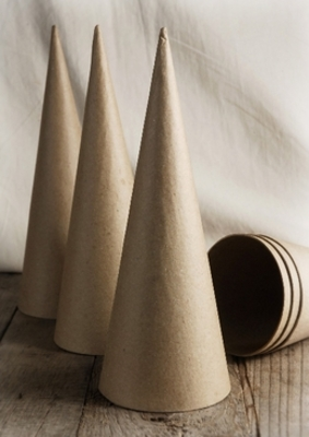 Floral supplies 2060 off saveoncrafts for Cardboard cones for crafts