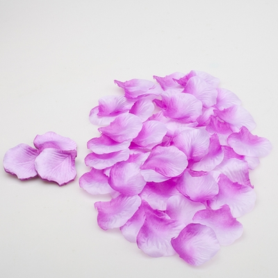 Silk Rose Petals Purple Two Tone 1,000 Petals