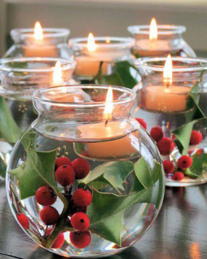Top 12 christmas centerpieces Idee deco table noel
