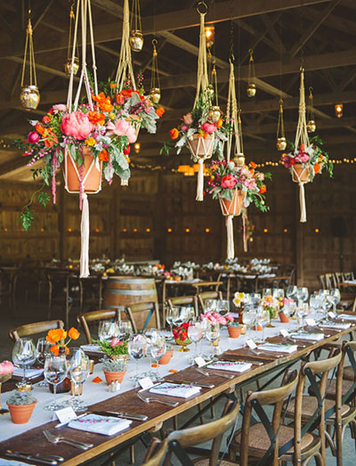 top 5 hanging centerpiece ideas for weddings - Centerpiece Ideas