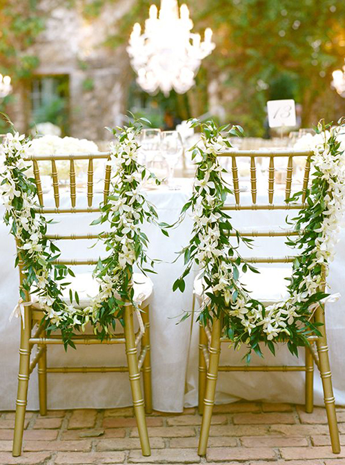 wedding chair decor top 7 wedding chair decorations 8951
