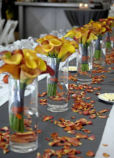 Top 8 fall wedding decoration ideas for October wedding decoration ideas