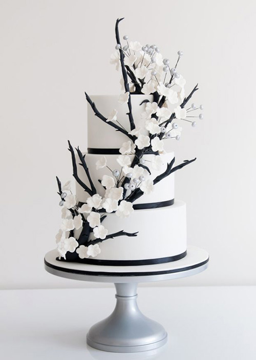 Top 9 black and white wedding ideas junglespirit Images