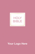 "<span style=""color: #b20606;"">Custom</span> KJV Economy Outreach Bible (Paperback, Pink - 100 or more Bibles)"