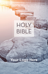 """<span style=""""color: #b20606;"""">Custom</span> NIV Economy Outreach Bible (Paperback, Stepping Stones - 100 or more Bibles)"""