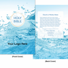 CUSTOM NIV Economy Outreach Bible (Paperback, Water Splash - 100 or more Bibles)