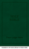 CUSTOM NIV Leathersoft Bible, Larger Print, Available in 24 Colors (Cover 10, Leathersoft - 1,000 or more Bibles)