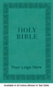 CUSTOM NIV Leathersoft Bible, Larger Print, Available in 24 Colors (Cover 9, Leathersoft - 1,000 or more Bibles)