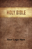 CUSTOM NIV Larger Print Bible (Paperback, Brown Design - 100 or more Bibles)