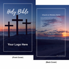 CUSTOM NIV Larger Print Bible (Paperback, Crosses Beach - 100 or more Bibles)