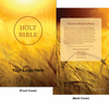 CUSTOM NIV Larger Print Bible (Paperback, Grain - 100 or more Bibles)