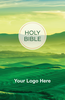 CUSTOM NIV Larger Print Bible (Paperback, Green Hills - 100 or more Bibles)