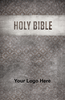 CUSTOM NIV Larger Print Bible (Paperback, Grey Design - 100 or more Bibles)