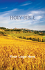 CUSTOM NIV Larger Print Bible (Paperback, Wheat Field - 100 or more Bibles)
