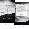 CUSTOM NKJV Economy Outreach Bible (Paperback, Crosses - 100 or more Bibles)