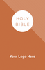 "<span style=""color: #b20606;"">CUSTOM</span> NKJV Economy Outreach Bible (Paperback, Orange - 100 or more Bibles)"