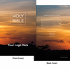 CUSTOM NKJV Economy Outreach Bible (Paperback, Sunset - 100 or more Bibles)