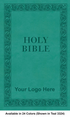 "<span style=""color: #b20606;"">Custom</span> NKJV Leathersoft Bible, Available in 24 Colors (Cover 9, Leathersoft - 1,000 or more Bibles)"