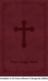 """<span style=""""color: #b20606;"""">Custom</span> NKJV Leathersoft Bible, Available in 24 Colors (Cover 1, Leathersoft - 1,000 or more Bibles)"""