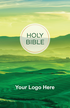 """<span style=""""color: #b20606;"""">Custom</span> NKJV Outreach Bible (Paperback, Green Hills - 100 or more Bibles)"""