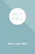 """<span style=""""color: #b20606;"""">Custom</span> NVI Spanish Economy Outreach Bible (Paperback, Blue - 100 or more Bibles)"""