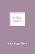 """<span style=""""color: #b20606;"""">Custom</span> NVI Spanish Economy Outreach New Testament (Paperback, Purple - 100 or more Bibles)"""
