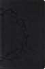 ESV Compact Bible (TruTone, Charcoal w/Crown Design - Case of 36)