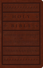 ESV LARGE PRINT Personal Size Bible (Imitation Leather, Brown w/Engraved Mantel Design - Case of 16)