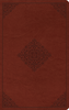 ESV LARGE PRINT Value Thinline Bible (TruTone, Tan w/Ornament Design - Case of 16)