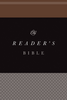 ESV Larger Print Reader's Bible (Paperback - Case of 16)