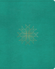 ESV Single Column Journaling Bible (Imitation Leather, Teal w/Resplendent Cross - Case of 8)