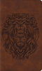 ESV Thinline Bible (TruTone, Brown w/Royal Lion Design - Case of 16)