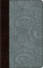 ESV Thinline Bible (TruTone, Chocolate/Blue w/Garden Design - Case of 16)