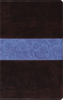 ESV Thinline Bible (TruTone, Chocolate/Blue w/Paisley Band - Case of 16)
