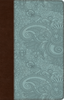 ESV UltraThin Bible (TruTone, Chocolate/Blue w/Garden Design - Case of 32)