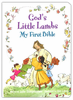 God's Little Lambs: My First Bible (Board Book - Case of 32)