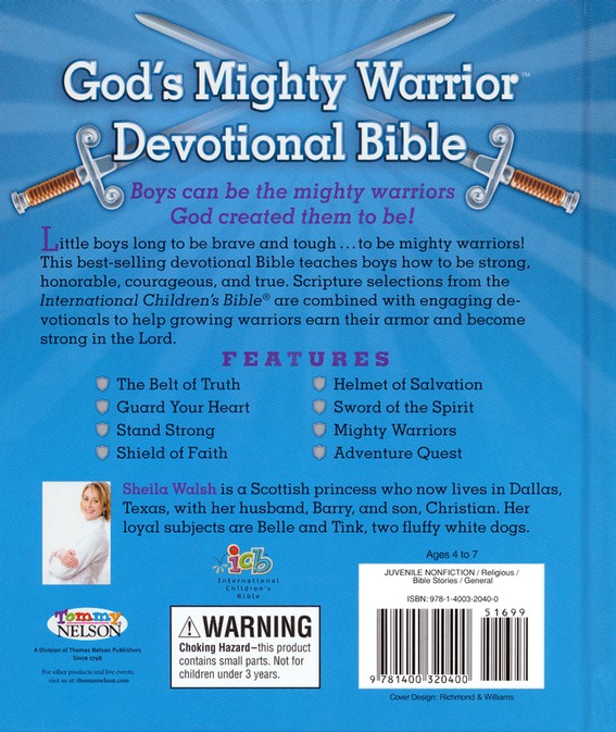 Mighty Warriors In The Bible: ICB God's Mighty Warrior Devotional Bible, International