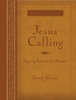 Jesus Calling Devotional, LARGE PRINT (Imitation Leather, Amber - Case of 24)