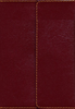 KJV Compact Reference Bible, Large Print & Snapflap (Imitation Leather, Burgundy - Case of 24)