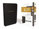 KJV Deluxe Compact Reference Bible, Large Print (Imitation Leather, Black - Case of 24)