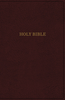 KJV Deluxe Thinline Reference Bible (Imitation Leather, Burgundy - Case of 24)
