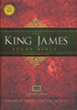 KJV King James Study Bible, Large Print (Hardcover - Case of 12)