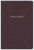 KJV Reference Bible, Giant Print (Bonded Leather, Burgundy - Case of 12)