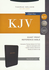 KJV Reference Bible, GIANT PRINT, Indexed (Bonded Leather, Black - Case of 12)