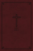 KJV Reference Bible, Personal Size GIANT PRINT, Indexed (Imitation Leather, Burgundy - Case of 12)
