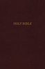 KJV Reference Bible, Super GIANT PRINT & Indexed (Leather-Look, Burgundy - Case of 10)