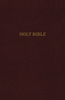 KJV Thinline Reference Bible (Leather-Look, Burgundy - Case of 24)