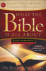 KJV What the Bible Is All About (Softcover - Case of 20)