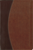 NASB Compact Thinline Bible (Italian Duo-Tone, Mahogany/Chocolate - Case of 16)