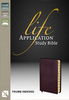 NASB Life Application Study Bible, Thumb Indexed (Bonded Leather, Burgundy - Case of 10)